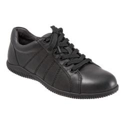 Women's SoftWalk Hickory Oxford Black Soft Tumbled Leather