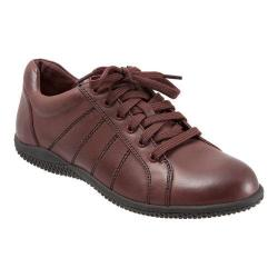 Women's SoftWalk Hickory Oxford Dark Red Veg Tumbled Leather
