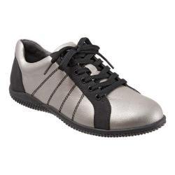 Women's SoftWalk Hickory Oxford Silverwash/Black Tumbled Leather/Distressed Nubuck|https://ak1.ostkcdn.com/images/products/106/930/P18706319.jpg?_ostk_perf_=percv&impolicy=medium