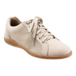 Women's SoftWalk Hickory Oxford Sand Nubuck Leather/Mesh Fabric