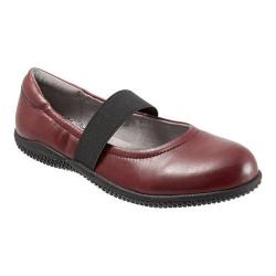 Women's SoftWalk High Point Dark Red Soft Nappa Leather