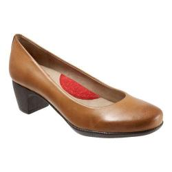 Women's SoftWalk Imperial Pump Cognac Soft Dull Leather
