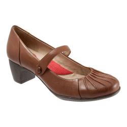 Women's SoftWalk Ireland Cognac Soft Nappa Leather
