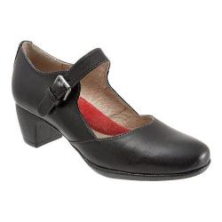 Women's SoftWalk Irish Mary Jane Black Veg Kid Leather
