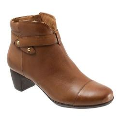 Women's SoftWalk Ivanhoe Cognac Veg Tumbled Leather