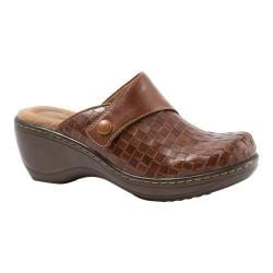 Women's SoftWalk Memphis Rust Burnished Veg Kid Leather