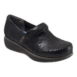 Women's SoftWalk Meredith Clog Black Mosaic Leather|https://ak1.ostkcdn.com/images/products/106/932/P18706372.jpg?impolicy=medium