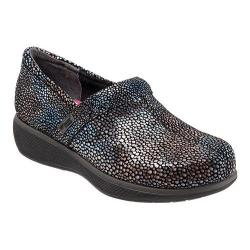 Women's SoftWalk Meredith Clog Multi Mosaic Leather