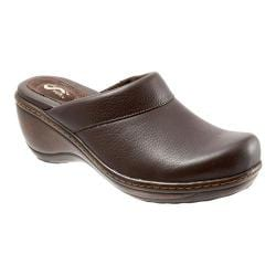 Women's SoftWalk Murietta Dark Brown Soft Tumbled Leather