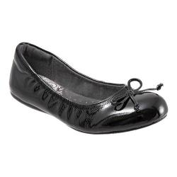 Women's SoftWalk Narina Black Crinkle Patent Leather
