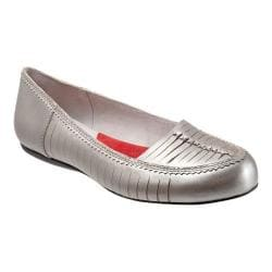 Women's SoftWalk Natchez Silverwash Metallic Nappa
