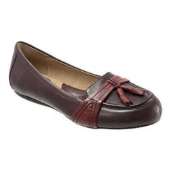 Women's SoftWalk Neverland Oxblood/Dark Red Soft Kid Leather
