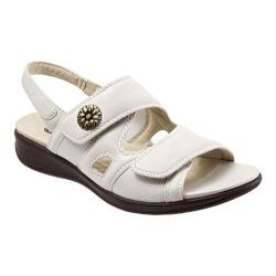 Women's SoftWalk Tanglewood Off White Nappa Leather/Stretch