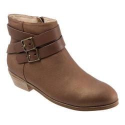 Women's SoftWalk Rancho Boot Tan Distressed Nubuck/Nappa Soft Leather