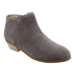 Women's SoftWalk Rocklin Boot Graphite Cow Suede