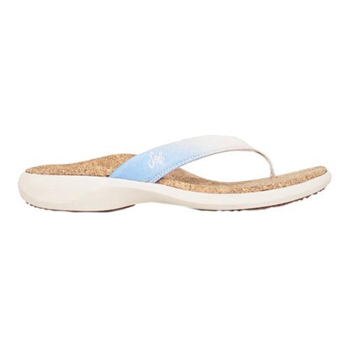 fcd986ac5210d Shop Women s SOLE Cork Flips Frost - Free Shipping Today - Overstock.com -  11797216