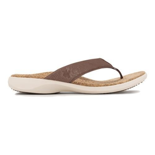 18c80675b697f Shop Men s SOLE Cork Flips Hickory - Free Shipping Today - Overstock.com -  11797224