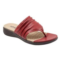 Women's SoftWalk Toma Red Nappa Leather