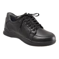 Women's SoftWalk Vital Lace Up Black Action Leather