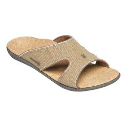 Women's Spenco Kholo Straw/Java/Cork