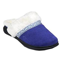 Women's Spenco Nordic Slide Slipper Navy Suede