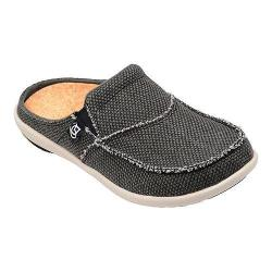 Men's Spenco Siesta Slide Charcoal Grey