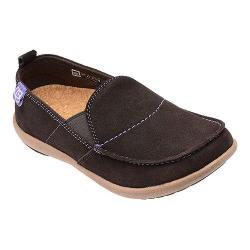 Women's Spenco Siesta Suede Dark Chocolate Wax Suede