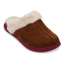 Women's Spenco Supreme Slide Slipper Bison Suede