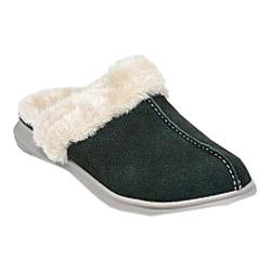 Women's Spenco Supreme Slide Slipper Deep Forest Suede