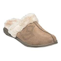Women's Spenco Supreme Slide Slipper Taupe Suede