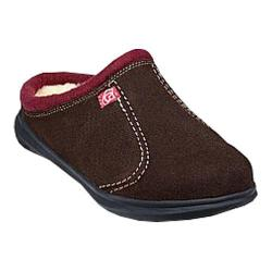 Men's Spenco Supreme Slide Slipper Chocolate Suede