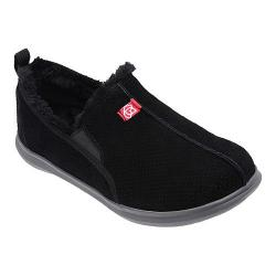 Men's Spenco Supreme Slipper Black Suede