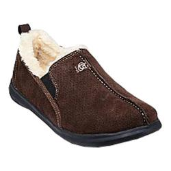Men's Spenco Supreme Slipper Chocolate Quilted Nylon