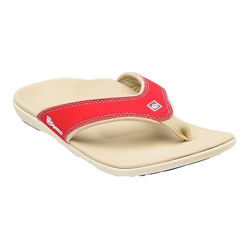 Shop Women S Spenco Yumi Sandal True Red Free Shipping