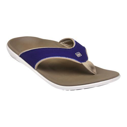 Men's Spenco Yumi Sandal Medieval Blue Polyurethane