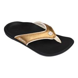 Women's Spenco Yumi Metallic Sandal Bronze