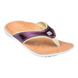 Women's Spenco Yumi Metallic Sandal Violet