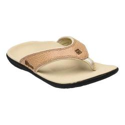 Women's Spenco Yumi Sandal Dark Tan Snake