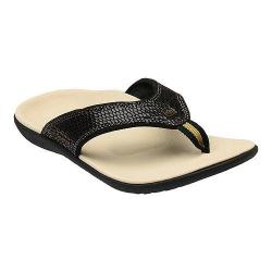 Women's Spenco Yumi Sandal Black Snake