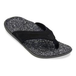 Men's Spenco Yumi Sandal Black Leather