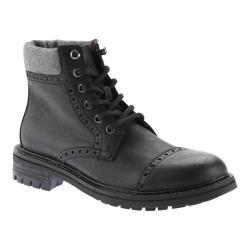 Men's Tommy Hilfiger Herbie Boot Black Vegas Pu/Grey Flannel