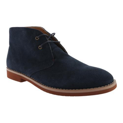 9e8bb0ba2 Shop Men s Tommy Hilfiger Sten Chukka Navy Suede Coffee Bean Pu - Free  Shipping Today - Overstock - 11797712