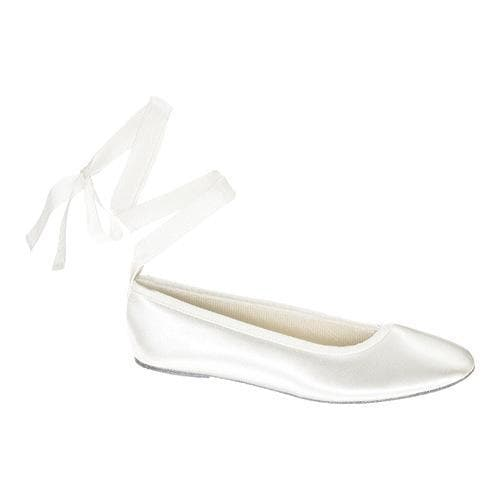 Women's Touch Ups Beth White Satin (US Women's 10 M (Regu...