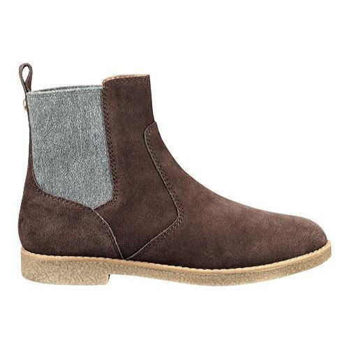 12353a66d Shop Women s Tommy Hilfiger Zita Chelsea Boot Burnt Brown Grey Rich Suede Wool  - Free Shipping Today - Overstock - 11797721