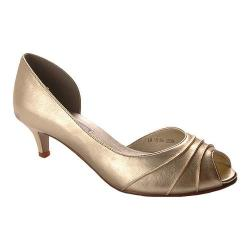 Women's Touch Ups Abby Metallic Gold Leather