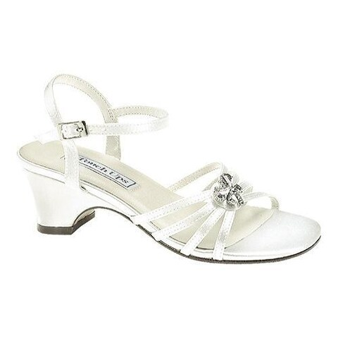 Girls' Touch Ups Betsy White Satin