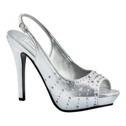 Women's Touch Ups Brooke II Silver Metallic