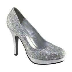 Women's Touch Ups Candice Silver/Iridescent Glitter