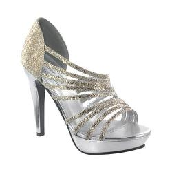 Women's Touch Ups Carey Gold/Silver Glitter