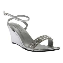 Women's Touch Ups Carter Wedge Sandal Silver Shimmer